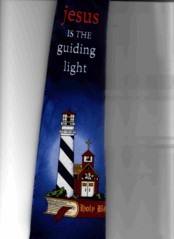 LIGHTHOUSE AND BIBLE